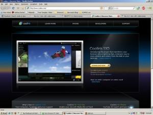 Cooliris web site