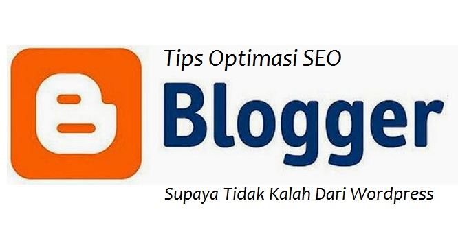 Optimasi SEO Blogspot