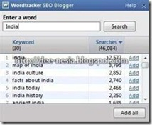 Wordtracker India