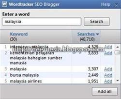 Wordtracker Malaysia