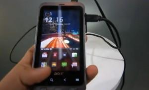 Acer Stream - Android Untuk Pria