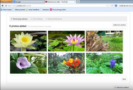 Cara Upload Foto Menjadi Slideshow di Youtube