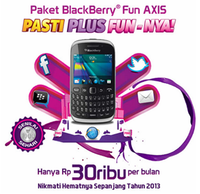 paket AXIS BlackBerry unlimited