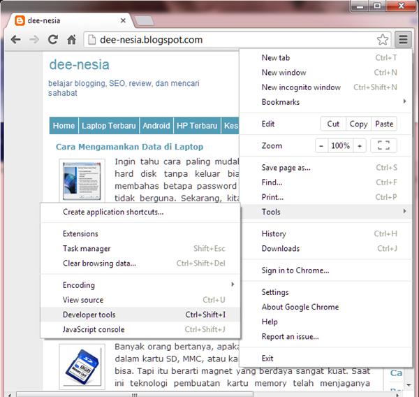 Cara Mengubah User Agent di Firefox, Chrome, dan Internet Explorer ...