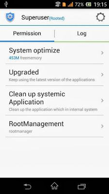 Root Xperia M Dual Superuser
