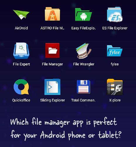 Aplikasi File Manager Android Terbaik