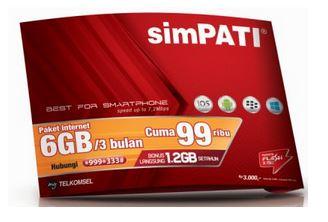 Paket Internet SimPati Groovy