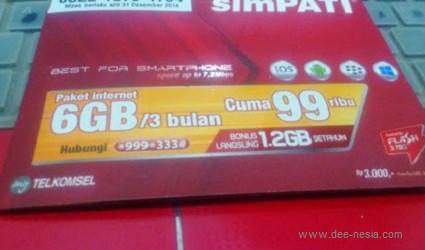 Cara Daftar Paket Juara 3G Simpati Groovy