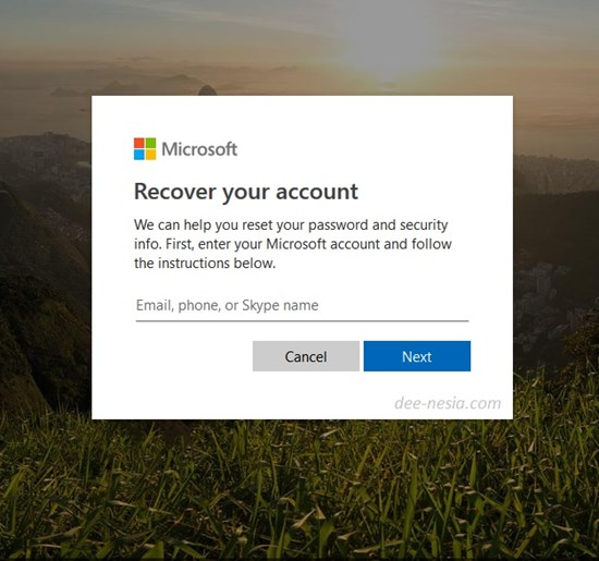 Lupa Password Login Windows 8