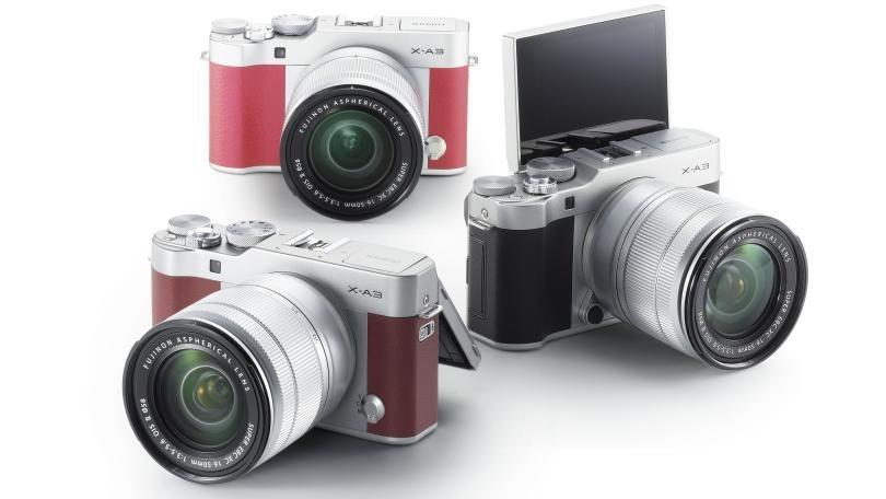 Kamera Mirrorless Fuji X-A3