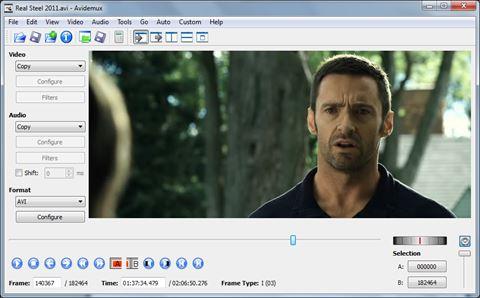 Avidemux aplikasi edit video yang mudah digunakan