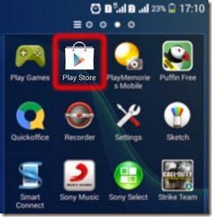 Memilih Google Play Store di Android