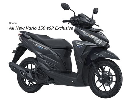 Honda Vario 150 eSP Exclusive Matte Black