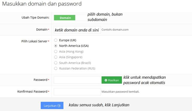 Memanfaatkan Hosting Gratis idhostinger Dengan Domain Sendiri