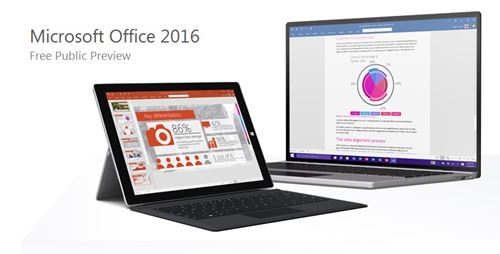 Microsoft Office 2016 Free Public Preview