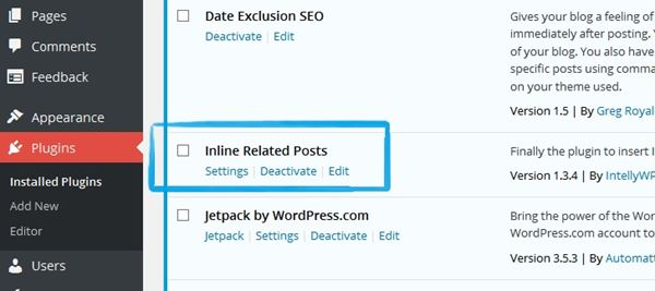Cara Pasang Related Post di Dalam Posting Wordpress