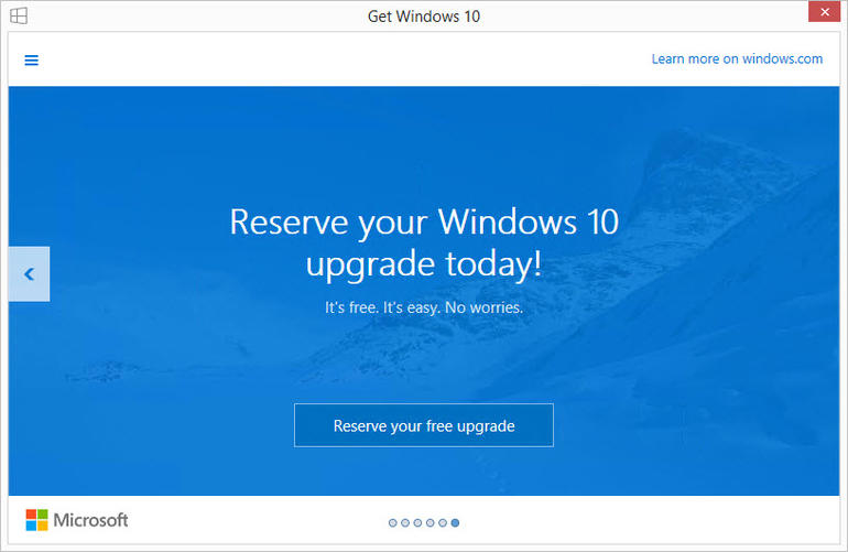 Get Windows 10 Offer