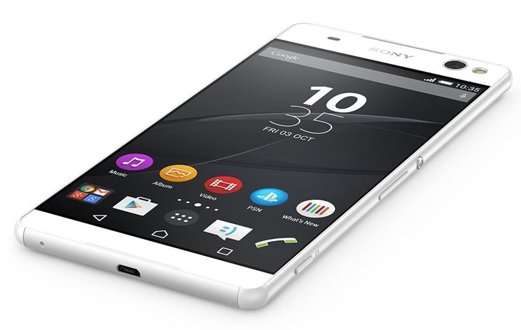 Sony Xperia C5 Ultra White Front