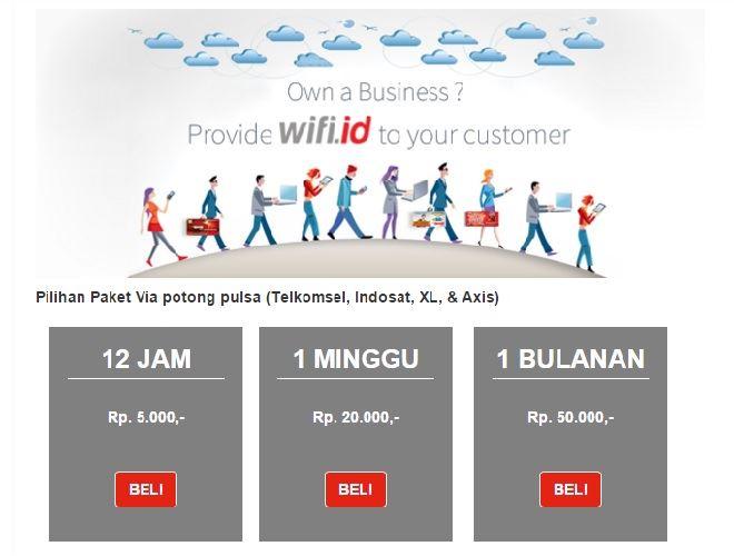 Cara Daftar Wifi ID Telkomsel (dan juga kartu Indosat, XL, dan Axis)