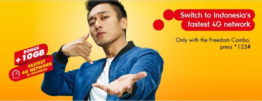 Paket Internet 4G Indosat