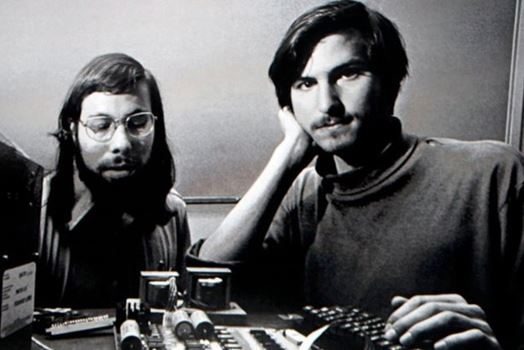 Steve Wozniak dan Steve Jobs