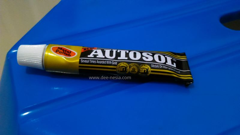 Setelah pakai Autosol. Lebih jernih kan?