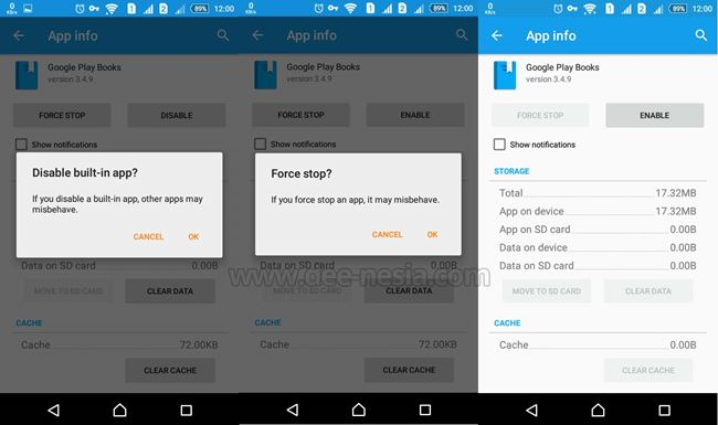 Cara Disable aplikasi bloatware di Android Setting