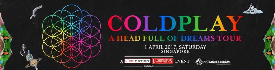 Coldplay A Head of Dreams Tour Harga Tiket