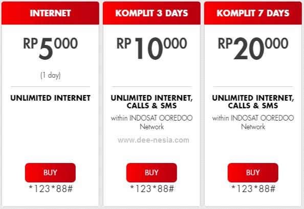 Paket Internet Indosat Unlimited Freedom Mini Internet Unlimited Murah Banget