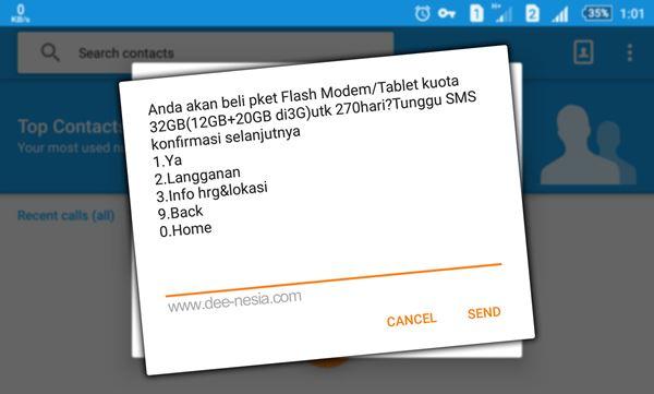Cara Daftar Paket Internet 3G Simpati Terbaru