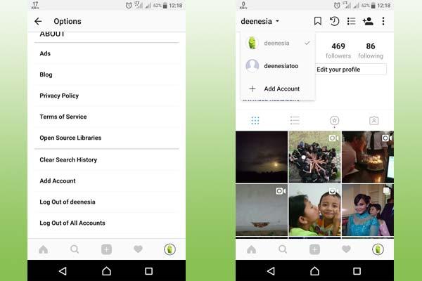 Cara Menggunakan Dua Akun Instagram Dalam Satu HP