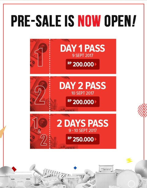 Harga Tiket Soundrenalin 2017 Online