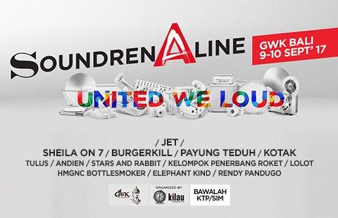 Beli Tiket Soundrenaline 2017
