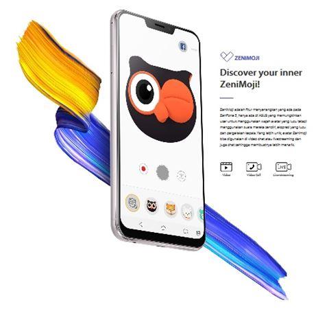 ZenMoji on Asus Zenfone 5 ZE620KL
