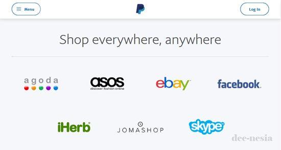 Beli barang di Ebay bayar pakai PayPal