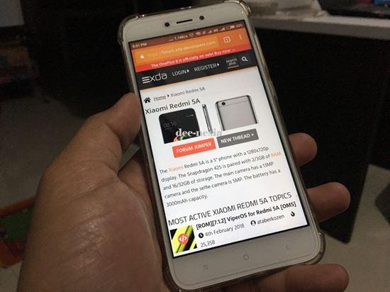 Xiaomi Redmi 5A di xda