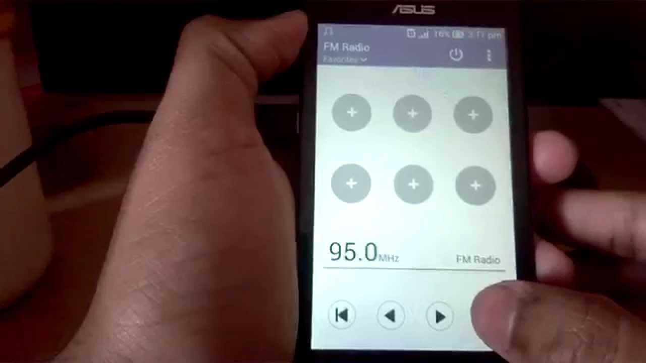 Radio FM di Asus Zenfone 4 Max