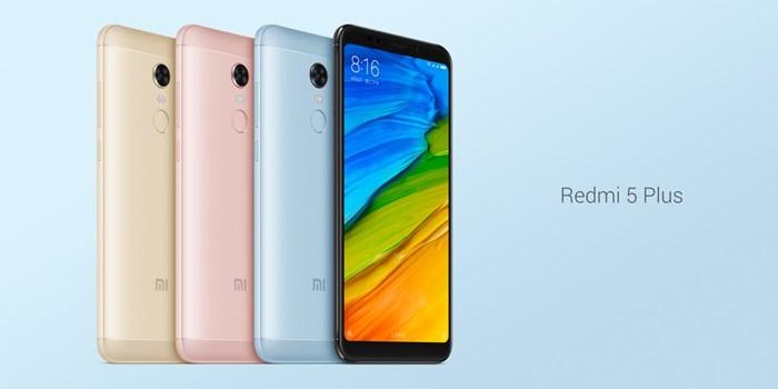 Xiaomi Redmi 5 Plus harga dan spesifikasi