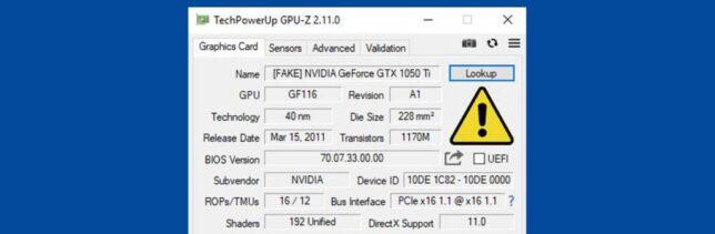 GPU-Z Sekarang Bisa Mendeteksi Kartu NVIDIA Palsu