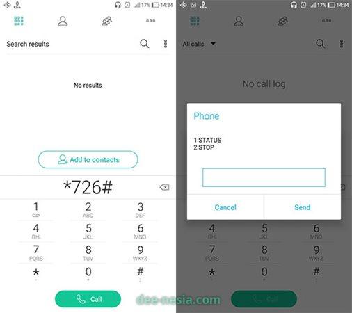 berhenti dari semua layanan berbayar Indosat dengan kode UMB *726#