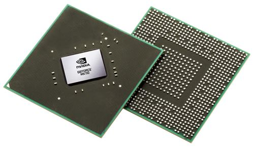 NVIDIA GeForce MX110 front back