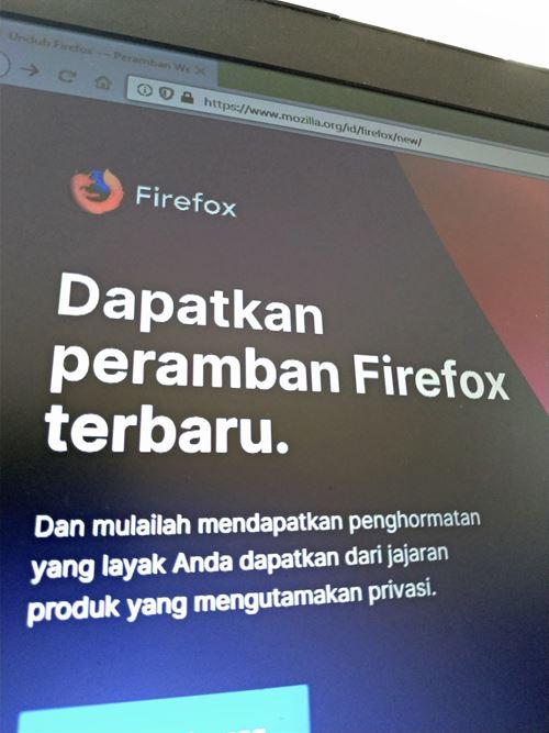 Daftar Shortcut Firefox