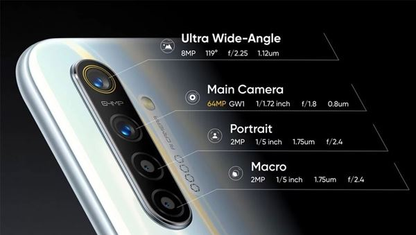 Realme XT konfigurasi kamera belakang