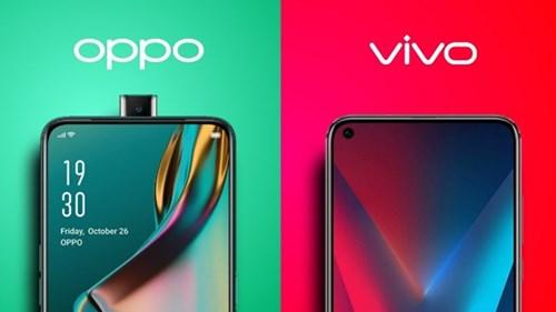 Bagaimanapun Perbedaan Oppo dan Vivo tetap kelihatan