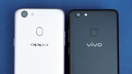 Desain Oppo dan Vivo kadang hanya beda tipis